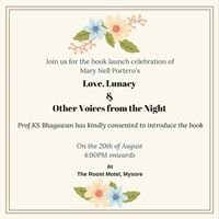 Book Launch - Love Lunacy and Other Voices from the Night
