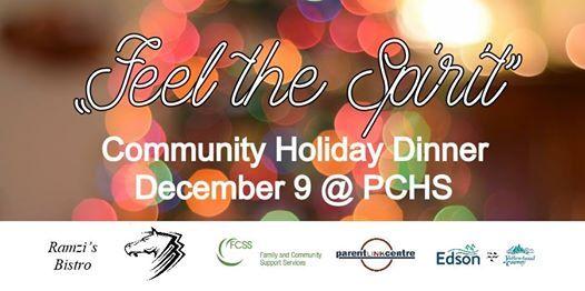 Feel the Spirit - Community Holiday Dinner