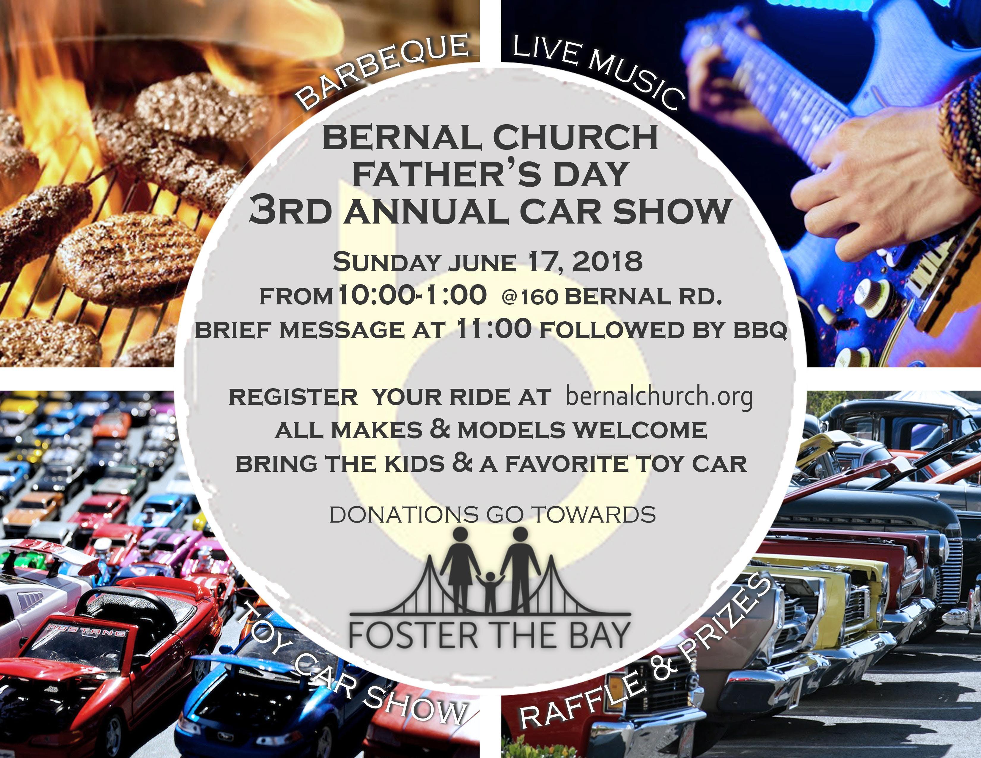 Fathers Day Car Show For Foster The Bay At Bernal Church San Jose - San jose car show 2018