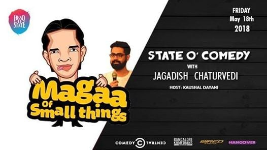 State O' Comedy followed by Bollywood Sounds Dance Party