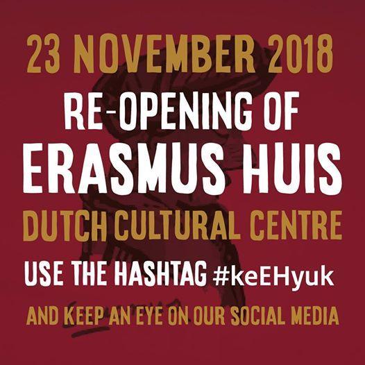 Re-opening of Erasmus Huis