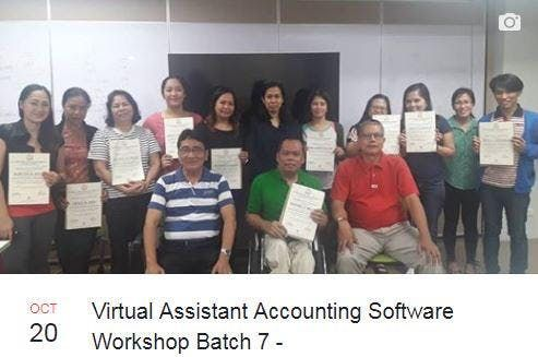 SOFTWARE SKILLS DEVT TRAINING Leading To Virtual And Local Bookkeepers Financial Analysts Software System Consultant At REAP Center Quezon City