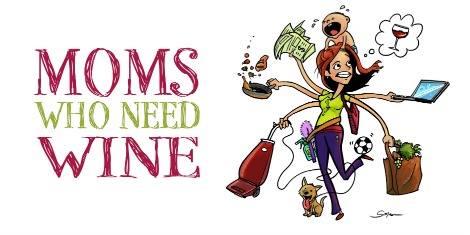 Moms & Merlot because kids