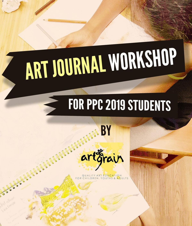 Art Journal Workshop for Portfolio Preparatory Students