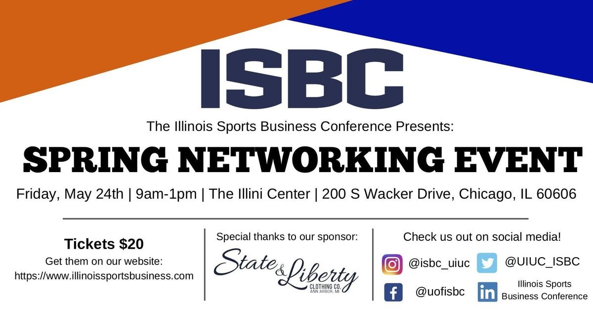 ISBC Spring Networking Event