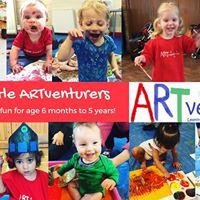 Baby &amp Little ARTventurers in Warwick - Friday mornings