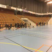 Inomhusflyg i Kristianstads Arena 252-2018