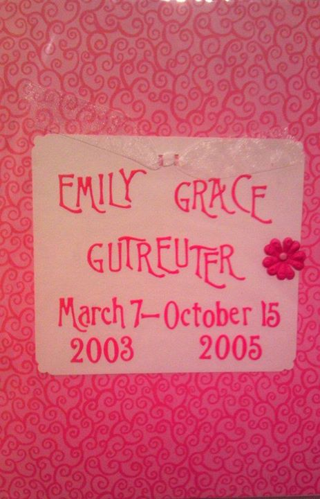 Emily Grace Day (Random Acts of Kindness Day - October 15th - In Memory Of Emily Grace Gutreuter)