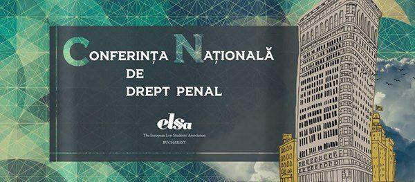 Conferina Naional de Drept Penal