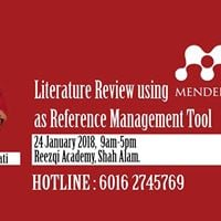 LR using Mendeley as Reference Management Tool