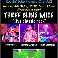Three Blind Mice - Lake Havasu City AZ - BaBaLoo Lounge 7p - 11p