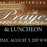 15th Annual Prayer Conference &amp Luncheon