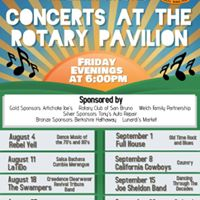 Concerts at the Rotary Pavilion - Rebel Yell