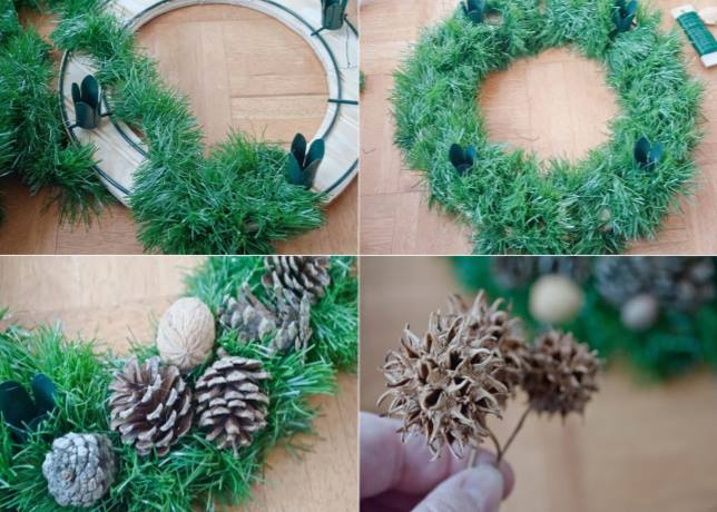 mmr advent wreath making at mary mother of the redeemer catholic