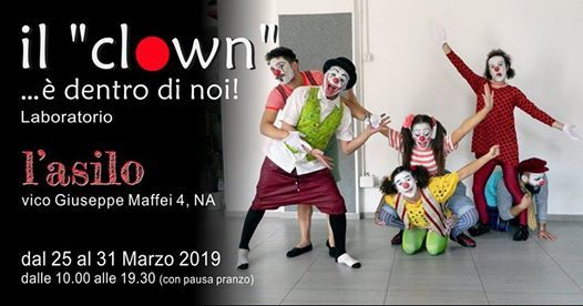 Il clown  dentro di noi - laboratorio