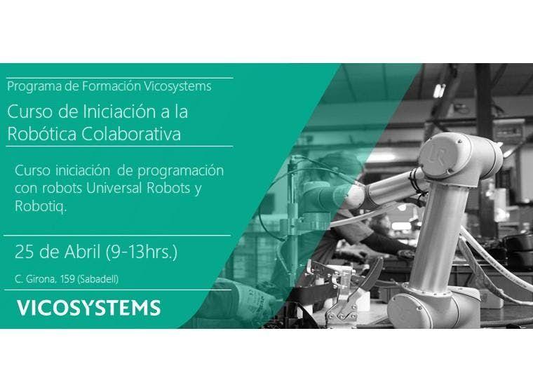 Curso de Iniciacin a la Robtica Colaborativa 25.04.2019
