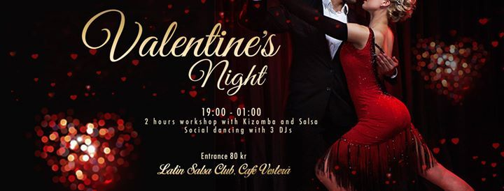 Kizomba &Salsa for beginners & Social Dancing Valentines Night
