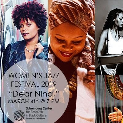 2019 Womens Jazz Festival WEEK 1 Dear Nina