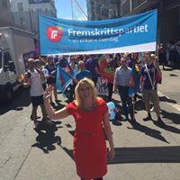 Oslo FrP og FpU i Oslo Pride Parade 2017