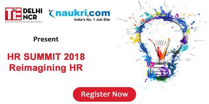 HR Summit 2018 - Re imagining HR