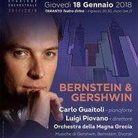 Concerto Bernstein &amp Gershwin