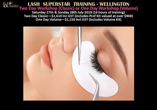 Two Day Eyelash Extension Workshop - Wellington