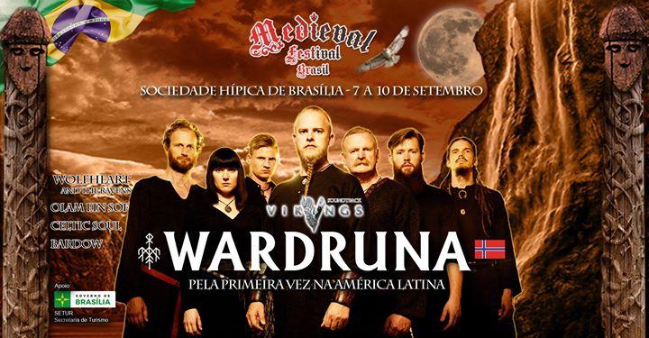 Resultado de imagem para wardruna festival medieval brasil