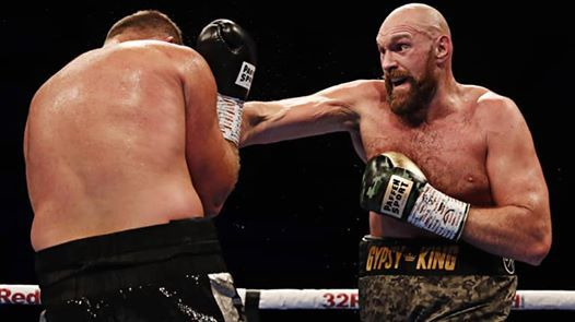 Nor lait Sporting Events present a Night with Tyson Fury