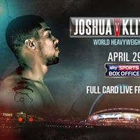 The Big Fight LIVE  Joshua v Klitschko
