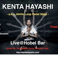 Kenta Hayashi Last show (this time) in BerlinHobel Bar SEP 23