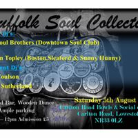 Suffolk Soul Collective Northern Soul Night