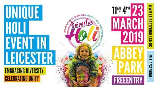 Leicester Holi - Embracing Diversity Celebrating Unity
