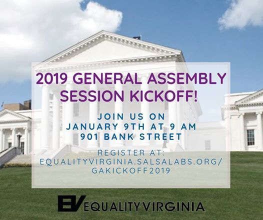 Kick Off The 2019 General Assembly Session With Us