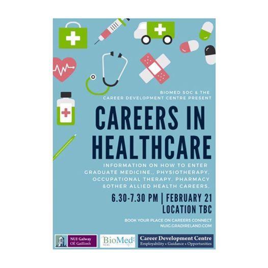 Careers In Healthcare Info Evening at Career Development