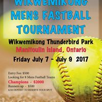 Wiky mens fastball and ladies slo-pitch tournament