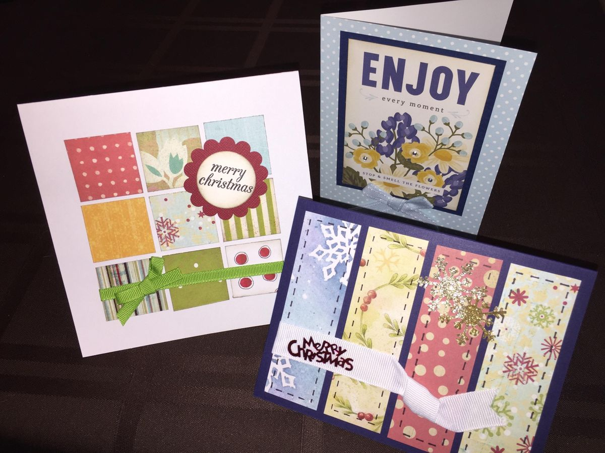 Ladies Time Out Intro to Card Making