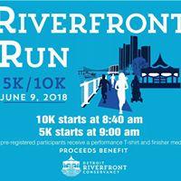 Detroit RiverFront Run