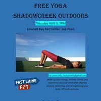 Free Community Yoga organized by Fast Laine Fit