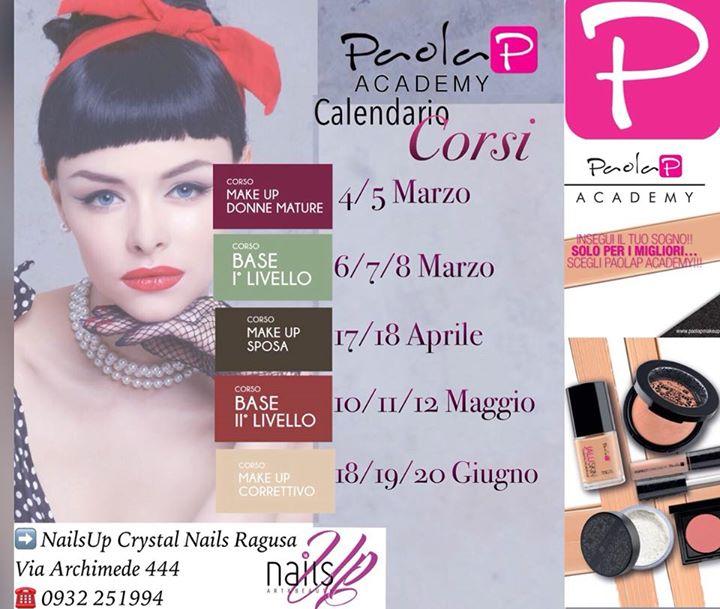 Calendario Mature.Calendario Corsi Paolap Makeup Academy At Nailsup Crystal