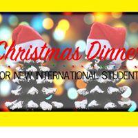 Christmas Dinner for New International Students