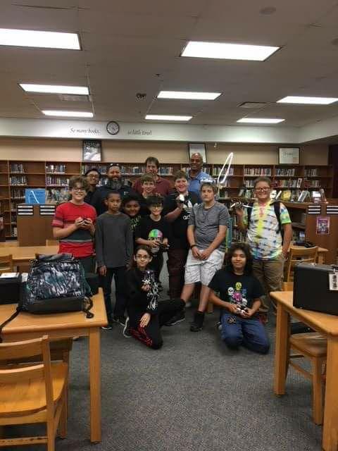 SADDriscoll Middle School Drone Club