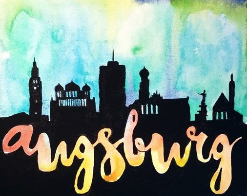 ArtNight Skyline Augsburg am 26022019 in Augsburg