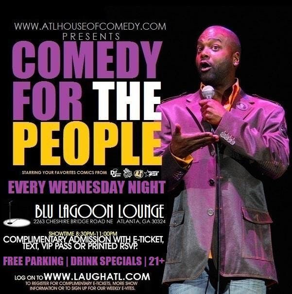 Comedy for the People at Blu Lagoon ATL