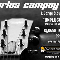 Carlos Campoy Unplugged Especial De Navidad - Caneca Furada