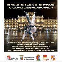 III Master Veteranos Judo Ciudad de Salamanca 2017