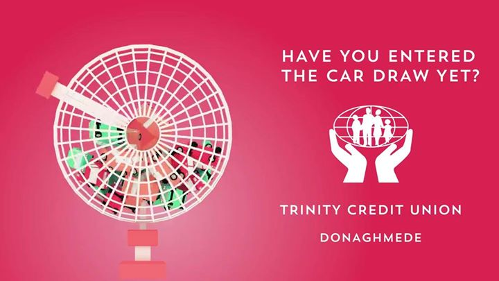 Trinity Credit Union Valentines Day Member Car Draw
