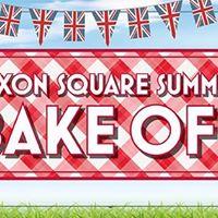 Saxon Square Summer Bake Off