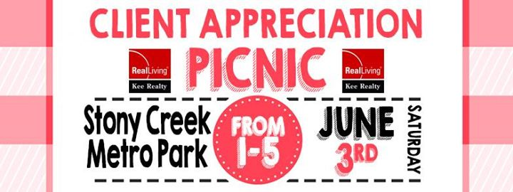 Real Living Kee Realty Client Appreciation Picnic At Stony Creek Metropark,  Shelby Township