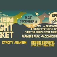 Anaheim Night Market and Movie in the Park