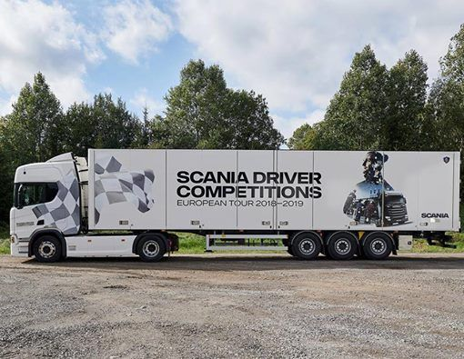 Scania Driver Competitions 20182019 - delfinale 1